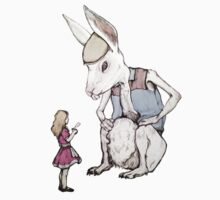 Jefferson Hare and the Child in Pink by SnarkyToddlers