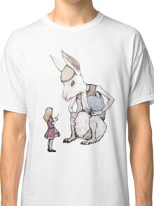 Jefferson Hare and the Child in Pink Classic T-Shirt