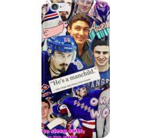 Chris Kreider Collage iPhone Case/Skin