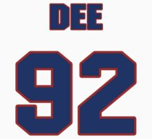 National football player Dee Hardison jersey 92 by imsport