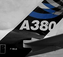 awsome flying machine ... A380 by SNAPPYDAVE