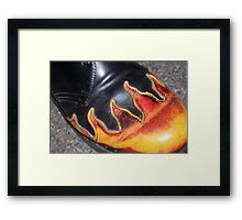 Cool Shoe Framed Print