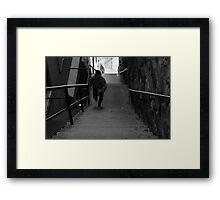 Exorcist Stairs - Georgetown Framed Print