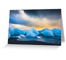 Iceland Sunset Greeting Card