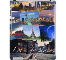 Let's Go Places-- Urban iPad Case/Skin