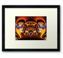 SciFi In Fractal Framed Print
