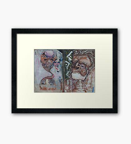 Mayan Odyssey Framed Print