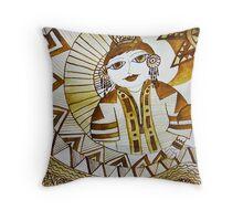 The Dreamweaver Throw Pillow