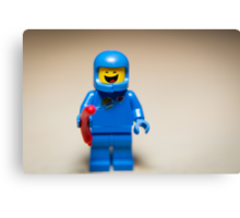 Benny from the Lego Movie Canvas Print