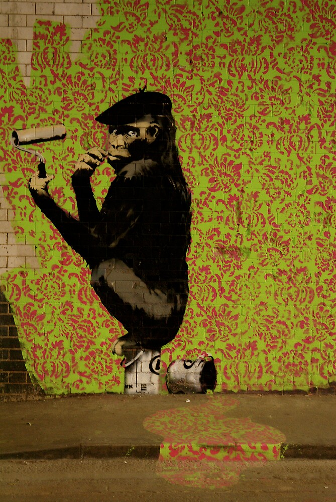 Banksy - Cans Festival 1 London by Kiwikiwi