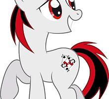 Happy Blackjack by generic-pony