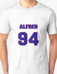 National football player Alfred Williams jersey 94 T-Shirt