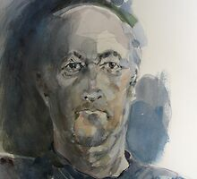 self portrait by Ray Pethick