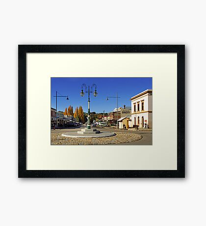 Ford and Camp Streets - Beechworth Framed Print