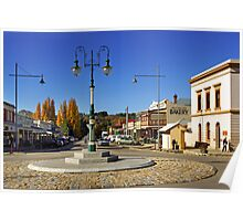 Ford and Camp Streets - Beechworth Poster