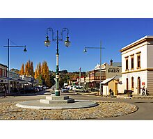 Ford and Camp Streets - Beechworth Photographic Print