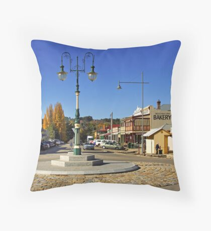 Ford and Camp Streets - Beechworth Throw Pillow