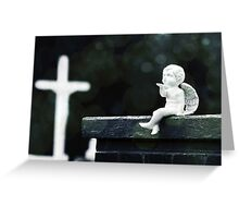 Watching Over Them Greeting Card