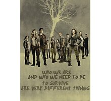 the 100 cast Photographic Print