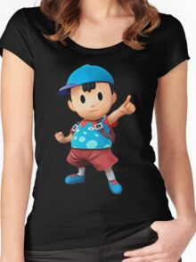 ness = fresh Women's Fitted Scoop T-Shirt