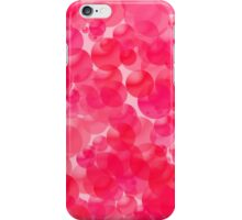 Pink Bubbles iPhone Case/Skin