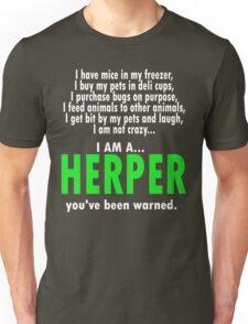 I Am A Herper Unisex T-Shirt