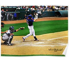 Michael Young, Texas Rangers Poster