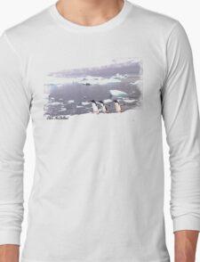 Three Amigos penguin  TSHIRT Long Sleeve T-Shirt
