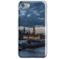 London - Blue Hour iPhone Case/Skin