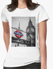 London Icons Womens Fitted T-Shirt