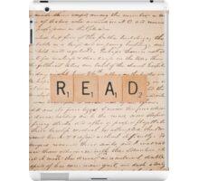 Bookaholic iPad Case/Skin