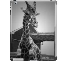 """""""Really?"""", Giraffe in BW iPad Case/Skin"""
