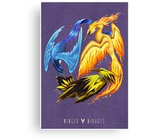 Pokemon: Winged Mirages Canvas Print
