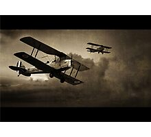Mission Successful - Sepia Photographic Print