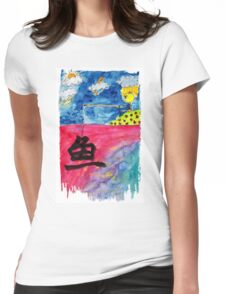 Sentiment fishing Womens Fitted T-Shirt