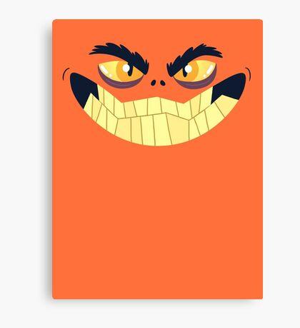 Monster Mugs - Smiley Canvas Print