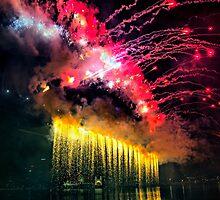 Firework from Harbour Bridge by andreisky