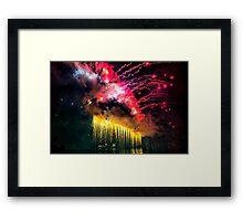 Firework from Harbour Bridge Framed Print