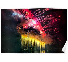 Firework from Harbour Bridge Poster