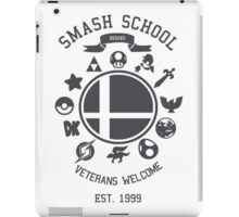 Smash School - Smash Veteran iPad Case/Skin