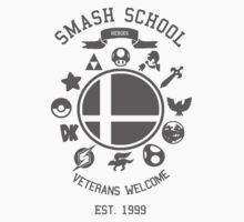 Smash School - Smash Veteran Kids Tee