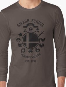 Smash School - Smash Veteran Long Sleeve T-Shirt