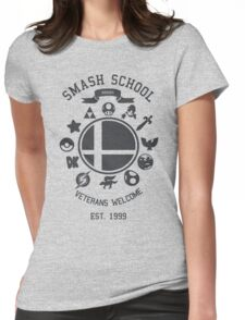 Smash School - Smash Veteran Womens Fitted T-Shirt