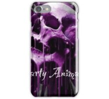 Purple party animal iPhone Case/Skin