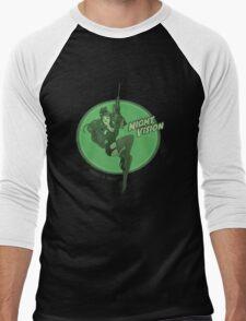 Night Vision Pin Up Men's Baseball ¾ T-Shirt