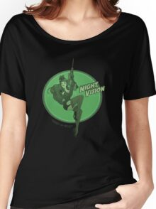Night Vision Pin Up Women's Relaxed Fit T-Shirt