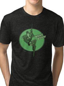 Night Vision Pin Up Tri-blend T-Shirt
