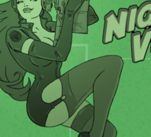 Night Vision Pin Up Sticker