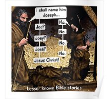 Lesser known Bible Stories - Naming Jesus Poster