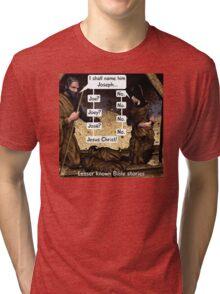 Lesser known Bible Stories - Naming Jesus Tri-blend T-Shirt